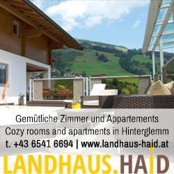 Cozy rooms and apartments in Hinterglemm